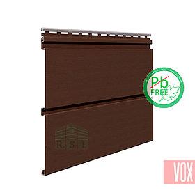 Софит виниловый VOX SV-09 Infratop Unicolor (со скрытой перфорацией, коричневый)