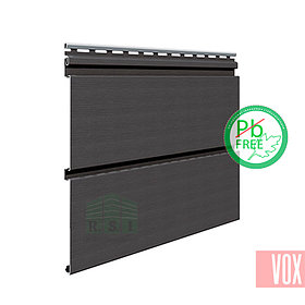 Софит виниловый VOX SV-09 Infratop Unicolor (со скрытой перфорацией, графит)
