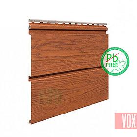 Софит виниловый VOX SV-09 Infratop Unicolor (со скрытой перфорацией, золотой дуб)