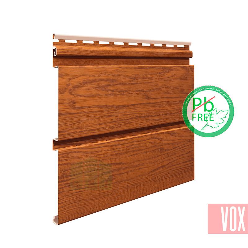 Софит виниловый VOX SVP-08 Nature (без перфорации, золотой дуб)