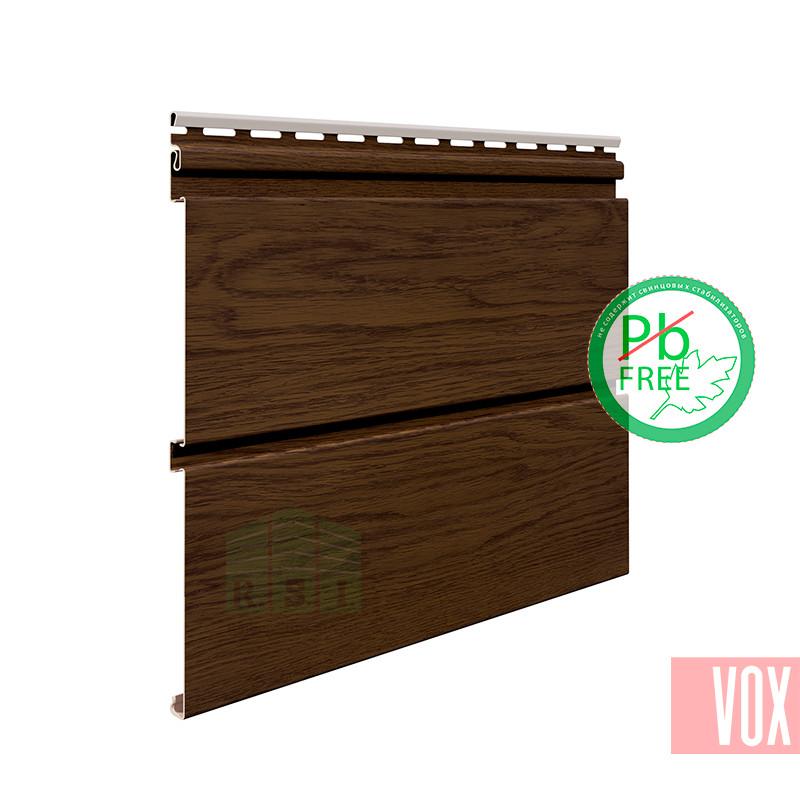 Софит виниловый VOX SVP-08 Nature (без перфорации, орех)