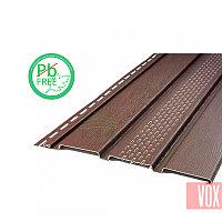 Софит виниловый VOX VSV-07 Vilo (с перфорацией, коричневый)