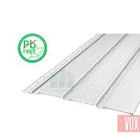 Софит виниловый VOX VSV-07 Vilo (с перфорацией, белый)