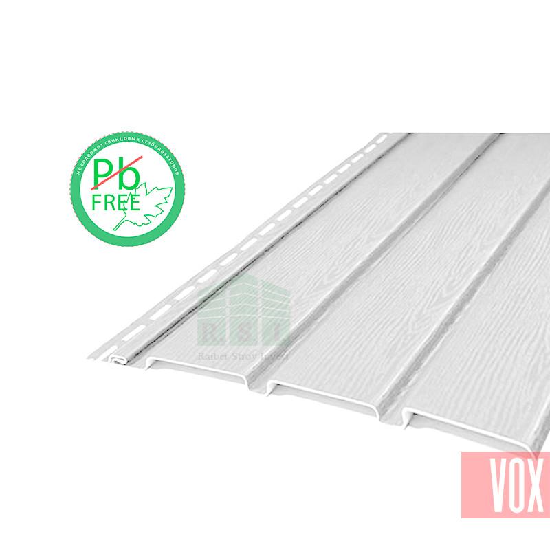 Софит виниловый VOX VSV-08 Vilo (без перфорации, белый)