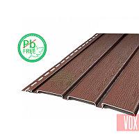 Софит виниловый VOX VSV-08 Vilo (без перфорации, коричневый)