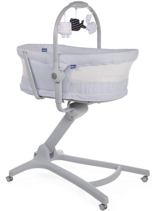 Кроватка-стульчик Chicco Baby Hug Air 4-в-1 Stone
