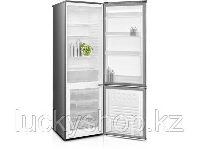 Холодильник DAUSCHER DRF-B359DF INOX серебристый, фото 2