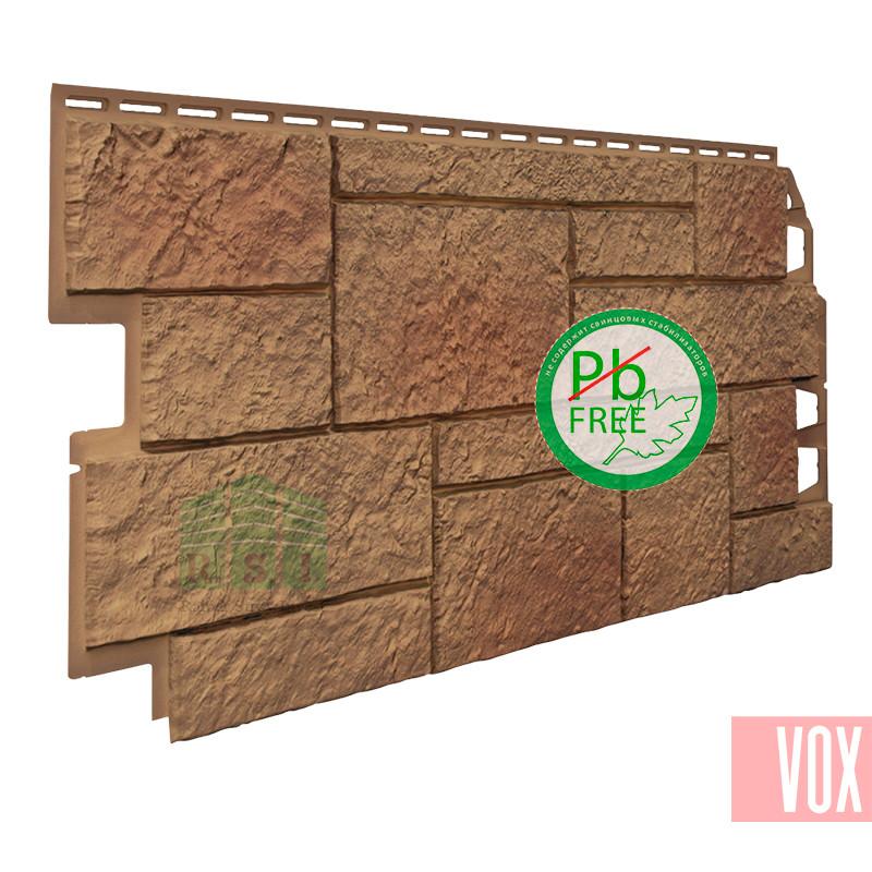 Фасадная панель VOX Sandstone Light Brown (светло-коричневый)