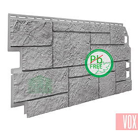 Фасадная панель VOX Sandstone Light Grey (светло-серый)