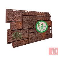 Фасадная панель VOX Sandstone Dark Brown (темно-коричневый)