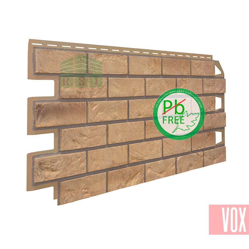 Фасадная панель VOX Solid Brick Exeter (песочный кирпич)