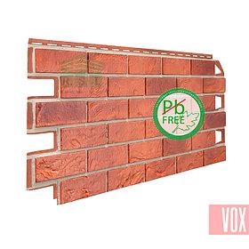 Фасадная панель VOX Solid Brick Bristol (красный кирпич)