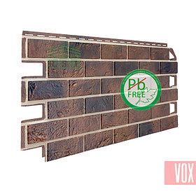 Фасадная панель VOX Solid Brick York (коричневый кирпич)