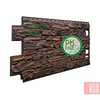 Фасадная панель VOX Solid Stone Sicily (темно-коричневый камень)