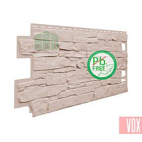 Фасадная панель VOX Solid Stone Liguria (ванильный камень)