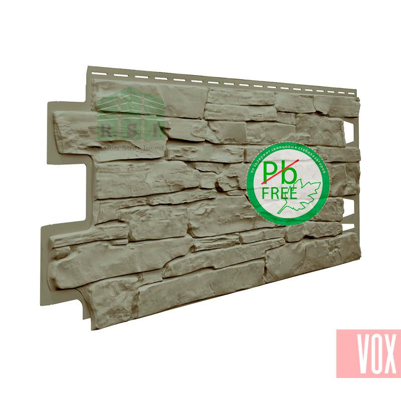 Фасадная панель VOX Solid Stone Calabria (глиняный камень)