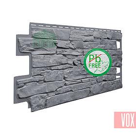 Фасадная панель VOX Solid Stone Toscana (серый камень)