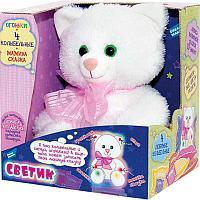 Детская игрушка Кошечка Светик поет колыбельные, эффект ночника, фото 1