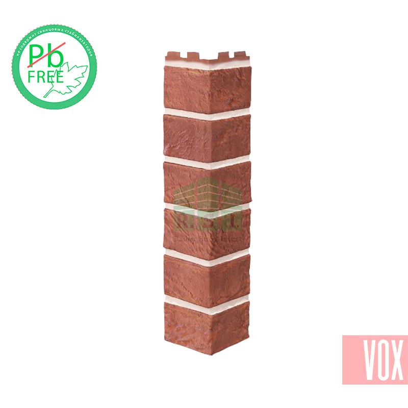 Наружный угол VOX Solid Brick Dorset (терракотовый кирпич)