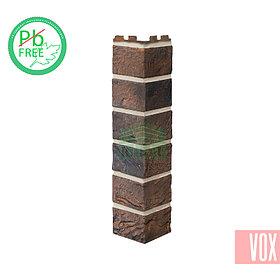 Наружный угол VOX Solid Brick York (коричневый кирпич)