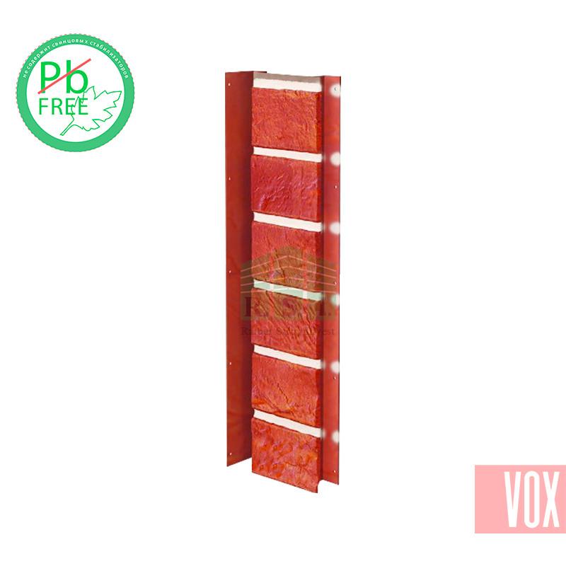 Внутренний угол (универсальная планка) VOX Solid Brick Dorset (терракотовый кирпич)