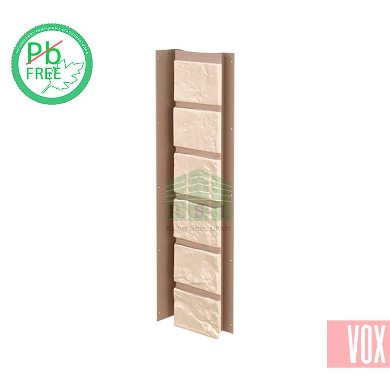 Внутренний угол (универсальная планка) VOX Solid Brick Coventry (светлый кирпич)