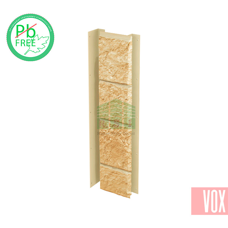 Внутренний угол (универсальная планка) VOX Sandstone Cream (кремовый)