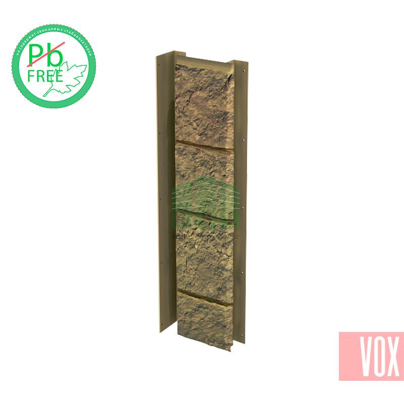 Внутренний угол (универсальная планка) VOX Sandstone Light Brown (светло-коричневый)