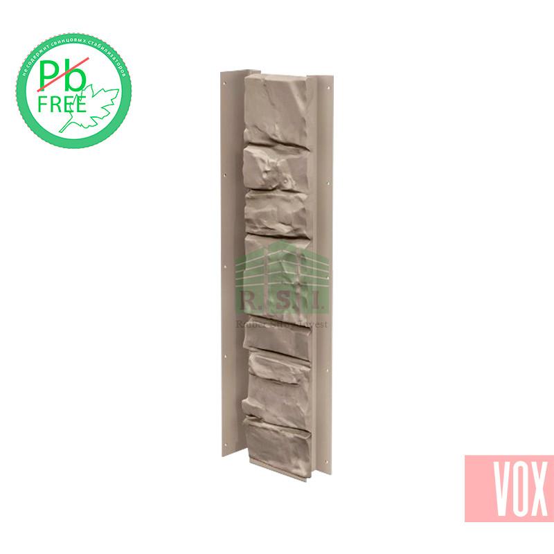 Внутренний угол (универсальная планка) VOX Solid Stone Lazio (светлая глина)
