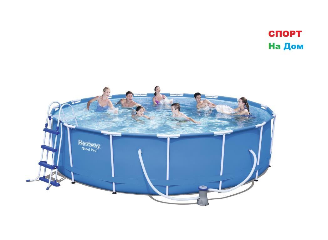 Каркасный бассейн Bestway 56488 (457*107 см, на 14970 литров)