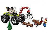 Конструктор Bela (Lari) «City» ( арт.10870) Лесоповальный трактор, - Аналог Lego (Лего) Сити 60181