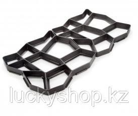 Форма пластиковая для тротуарных дорожек 40х40х4 см, фото 2
