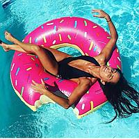 Круг надувной Пончик 1.2м (С5181)