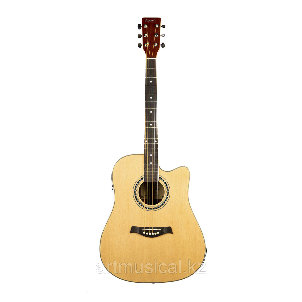 Гитара ADAGIO MDF-4122CE NT