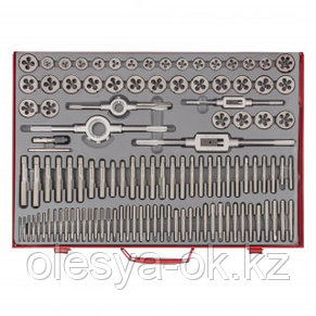 Набор метчиков и плашек М2-М18, 110 шт. MATRIX. 773110, фото 2