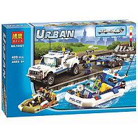 """Конструктор Bela """"Urban"""" Полицейский патруль, аналог Lego City (60045) Арт. 10421"""