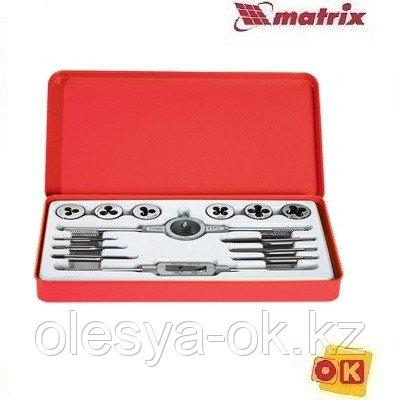 Набор метчиков и плашек М3-М10, 14 предметов. MATRIX. 77345, фото 2
