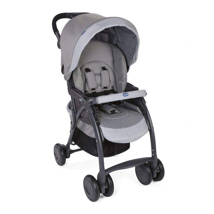 Прогулочная коляска Chicco Simplicity Top Grey