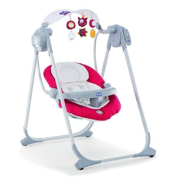 Кресло-качалка Polly Swing Up Paprika крас.