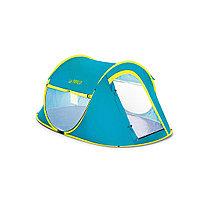 Палатка туристическая Pavillo Cool Mount 2 235 х 145 х 100 см, BESTWAY, 68086, Верх - винил PE190T с покрытием PU2000mm. Пол - винил PE 120 г/м,