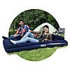 Матрас надувной Pavillo Aeroluxe Airbed (Queen) 203 х 152 х 22 см, BESTWAY, 67374, Винил, Насос 62002, 2 подушки, Флокированый верх, Синий, Цветная, фото 3