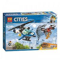 Конструктор LARI City Воздушная полиция: погоня дронов арт.11207 (Аналог LEGO City 60207)