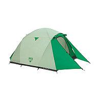 Палатка туристическая Pavillo Cultiva X3 (70+200+70) х 180 х 125 см, BESTWAY, 68046, Верх - винил PE190T с покрытием PU2000mm. Пол - винил PE120 г/м,