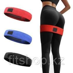 Комплект  тканевых фитнес резинок Hip Resistance Band 3  штук
