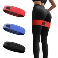 Комплект  тканевых фитнес резинок Hip Resistance Band 3  штук, фото 1