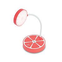 Настольная Лампа+Сенсорное управление, Deluxe, 2W, USB, Paradisi-R, Красный
