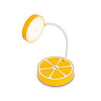 Настольная Лампа+Сенсорное управление, Deluxe, Paradisi-Y, 2W, Димминг 3 уровня, Питание от USB, Жёлтый