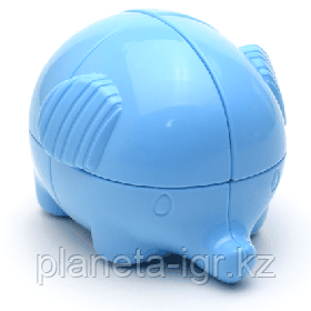 Кубик YJ 2X2 ELEPHANT, голубой или розовый