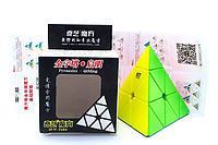 Кубик пирамидка QUIU 3x3 Qiming color, фото 1