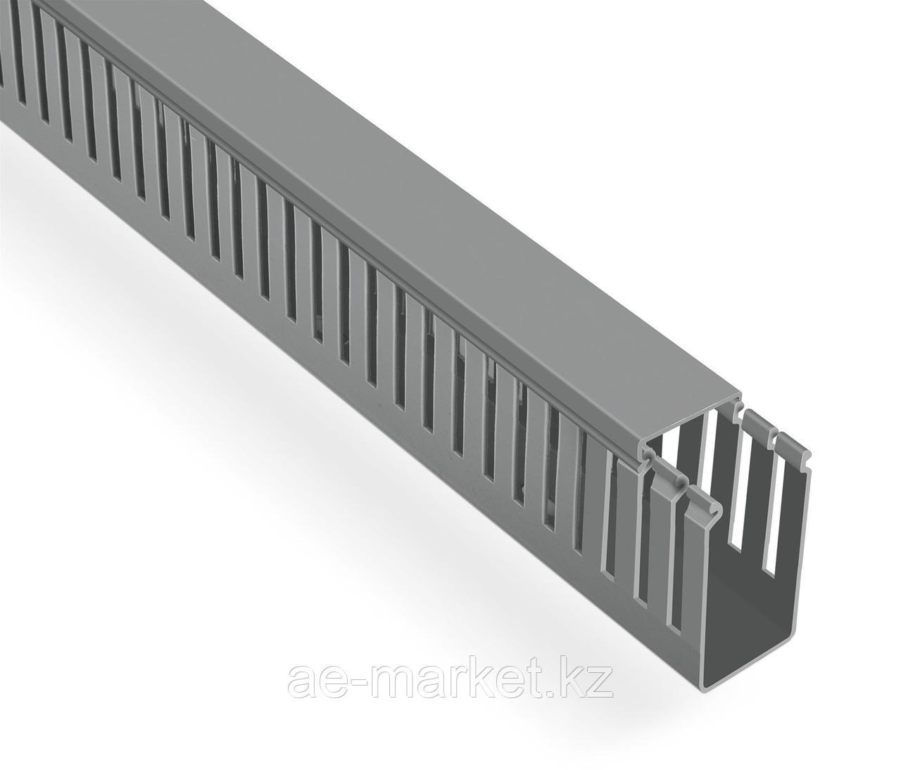 Перфорированый кабельный канал  40х60  (серый, 2м) Mutlusan